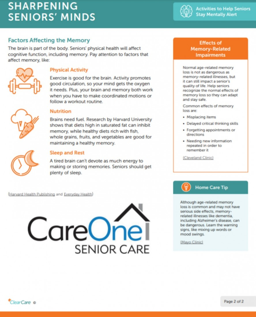 SHARPENING SENIORS' MINDS - Southeast Michigan Home Care Blog Posts | CareOne Senior Care - LARGE__2020-01-07_1509