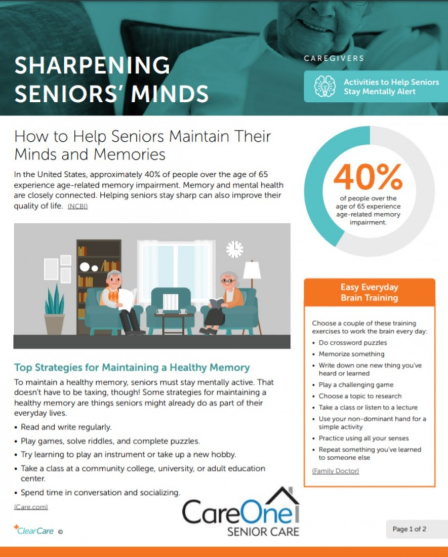 SHARPENING SENIORS' MINDS - Southeast Michigan Home Care Blog Posts | CareOne Senior Care - LARGE__PDF__2020-01-07_1454